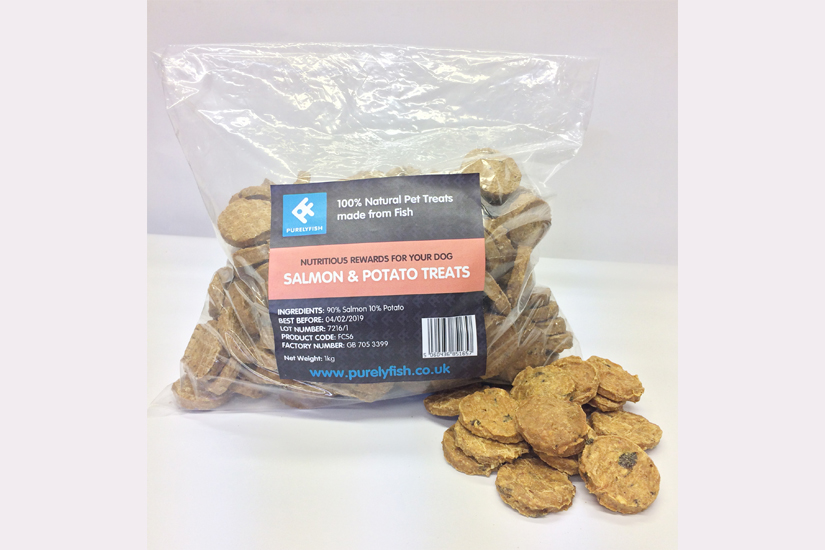 Salmon and Potato Treats 1Kg Bag